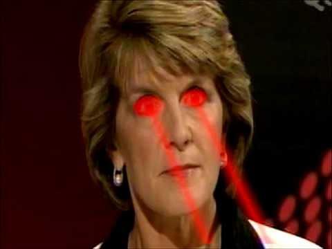 Catherine Deveny >> Julie Bishop Death Stare - YouTube
