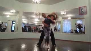 Видео: Kadu & Larissa Zouk Workshop in St. Petersburg!