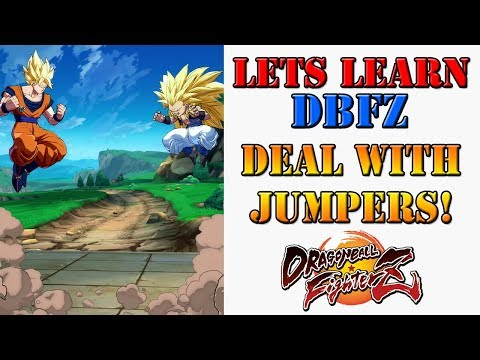 Lets learn DBFZ!  How to deal with people who keep jumping