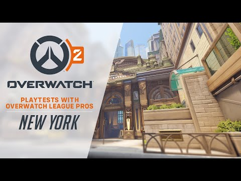Overwatch 2 Playtests with Overwatch League Pros | New York