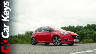 Vauxhall Corsa Red Edition 4K 2016 Review - Car Keys