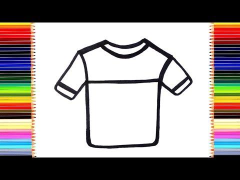 Как рисуется футболка