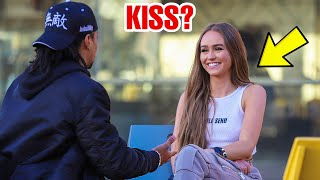 Asking HOT Girls if They Wanna KISS !! (MUST WATCH)