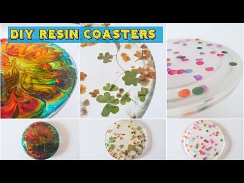 DIY Resin Coasters - हिंदी