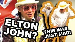 Shane's FIRST GIG as Elton John // Shane Hampsheir TV