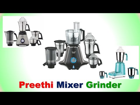 Best Preethi Mixer Grinder with Price | 2019 from YouTube · Duration:  2 minutes 22 seconds