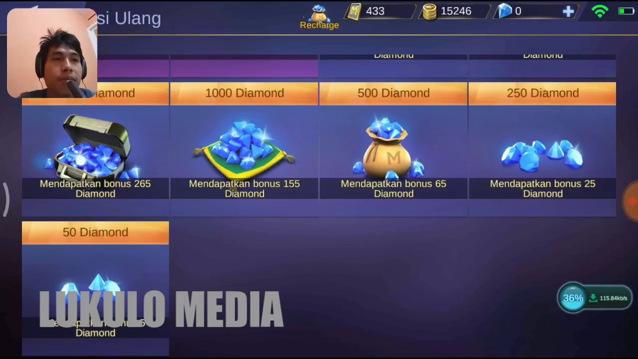 Cara Membeli Diamond Mobile Legend Via Tokopedia Youtube