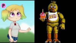 - Fnafhs vs Fnaf personajes