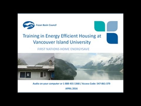 Training in Energy Efficient Housing at Vancouver Island University