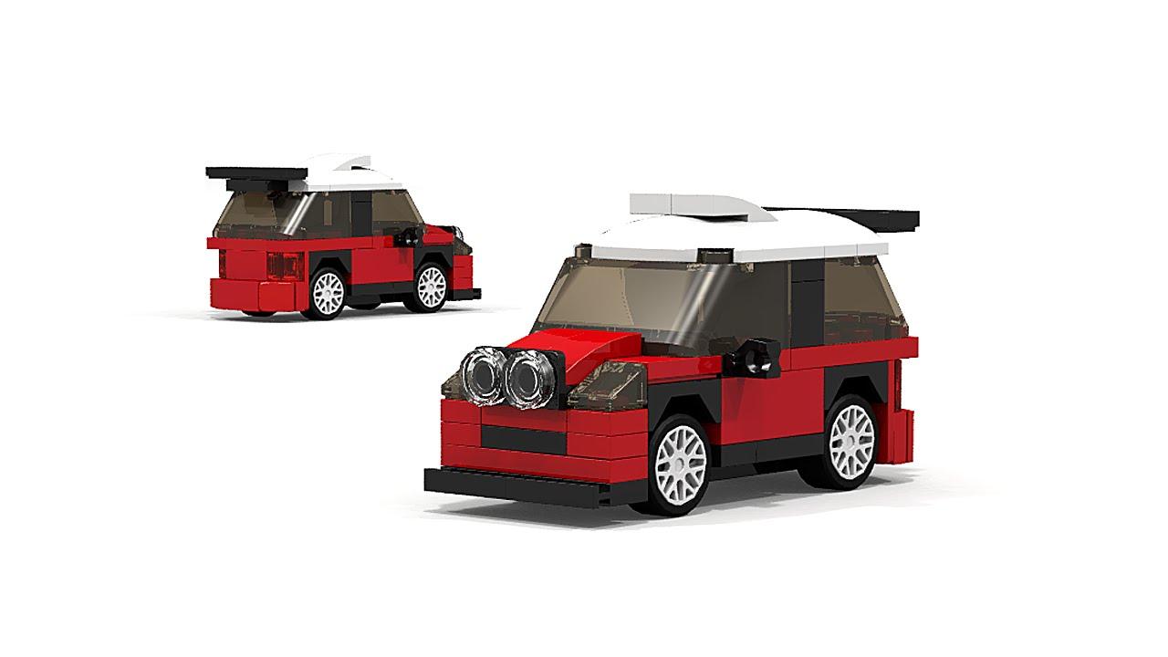 lego mini john cooper works wrc rally car instructions. Black Bedroom Furniture Sets. Home Design Ideas