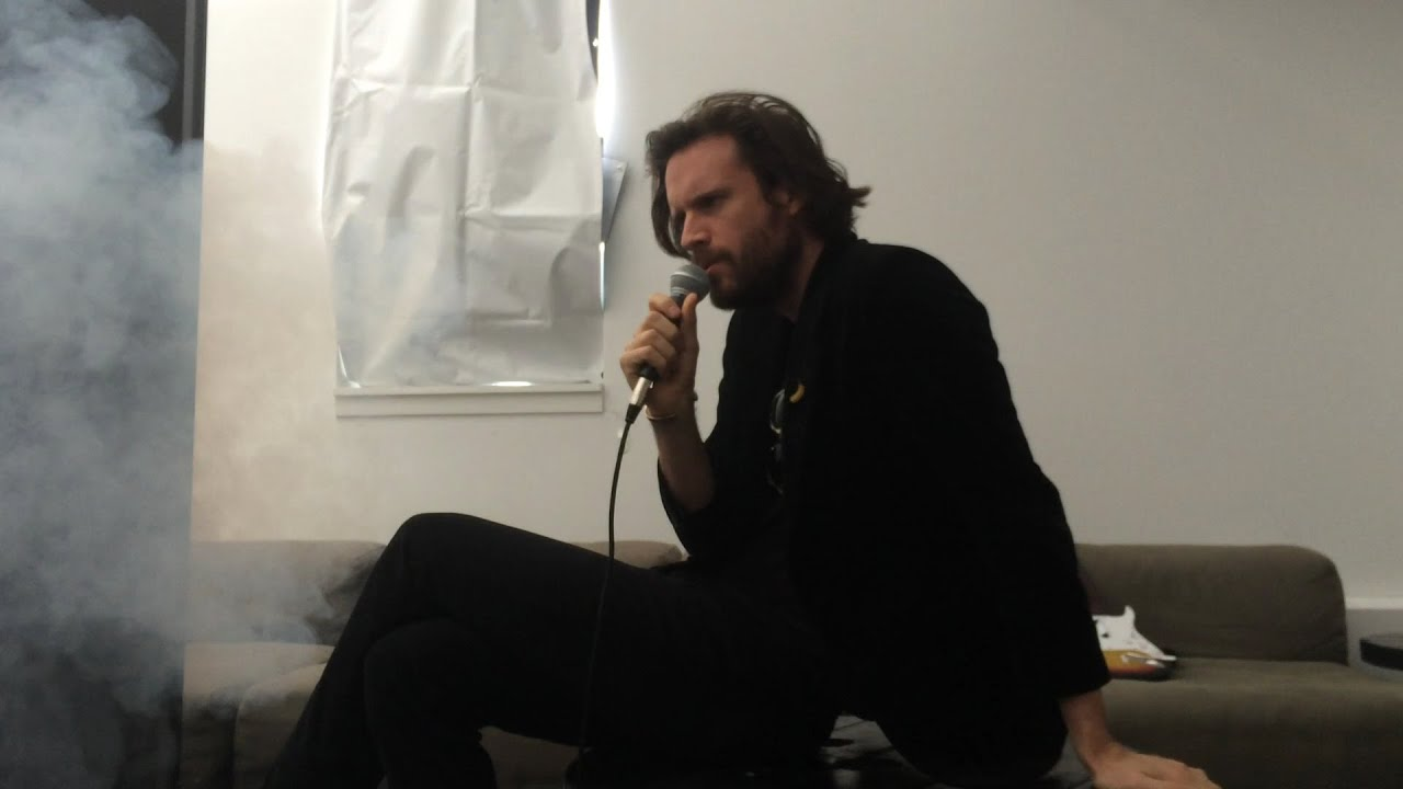 "Father John Misty - Bored in the USA (Live Performance at Spotify) - Father John Misty performs ""Bored in the USA"" on his Mobile Karaoke MIDI Dream Machine at the Spotify offices in New York."