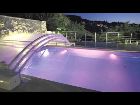 L 39 abri de piscine en 2013 par abrisud pool enclosure in for Abri de piscine abrisud