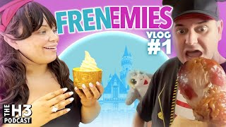 Trisha & Ethan Go To Disneyland For Her Birthday - Frenemies Vlog #1