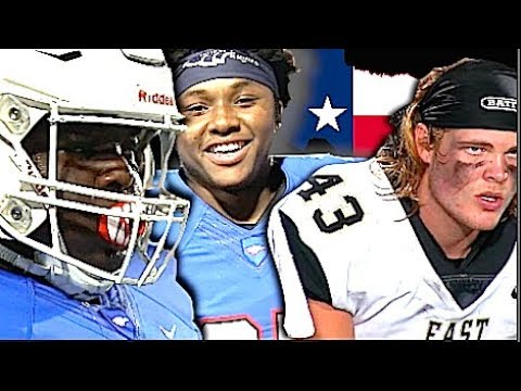 🔥 Texas HSFB | #2 Team in Texas Allen High v Plano East | UTR Highlight Mix 2017