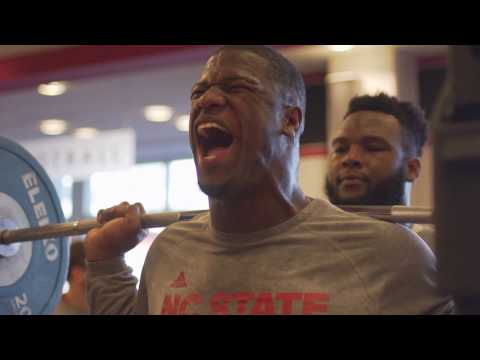 Wolfpack Football Strength & Conditioning Feature