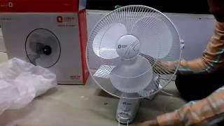 Wall Mounted Fan Installation Video - Easy Way