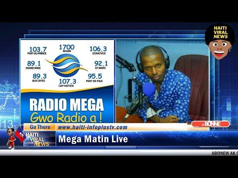 🔴Mega Matin Live 14 Juillet 2021 Sou Radio Mega avec Romanes Samedi et Blaise Peterson