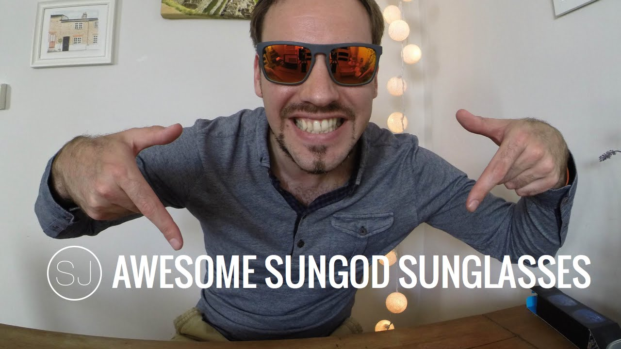 b83ec930a8 AWESOME SUNGOD RENEGADES SUNGLASSES - YouTube