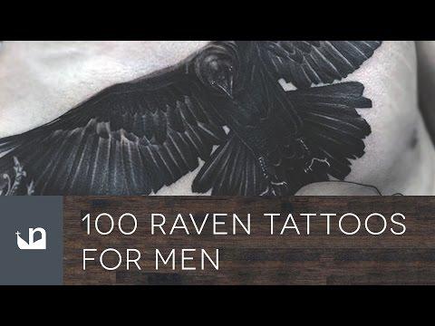 100 Raven Tattoos For Men