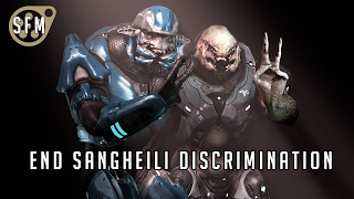 Sangheili Discrimination - Halo SFM Animation short