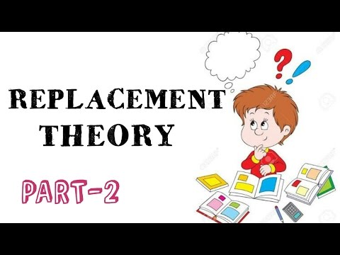REPLACEMENT THEORY IN OPERATIONS RESEARCH