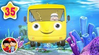 Las ruedas del autobús bajo el mar | Nanas para bebés | Little Baby Bum - Canciones Infantiles