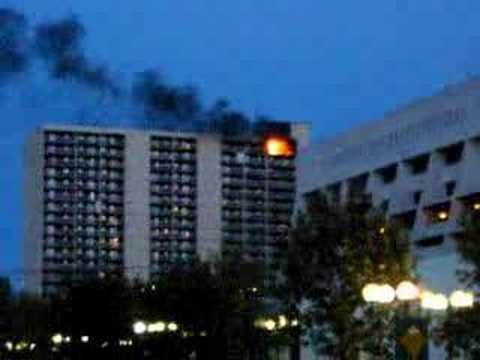 Apartment Fire in Saskatoon