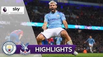 Später Agüero-Doppelpack – doch es reicht nicht | Manchester City - Crystal Palace 2:2 | Highlights