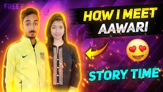 How I Meet AAWARI Full Love Story Time Free Fire Love Story