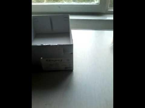 Камеру обскура из коробки 45