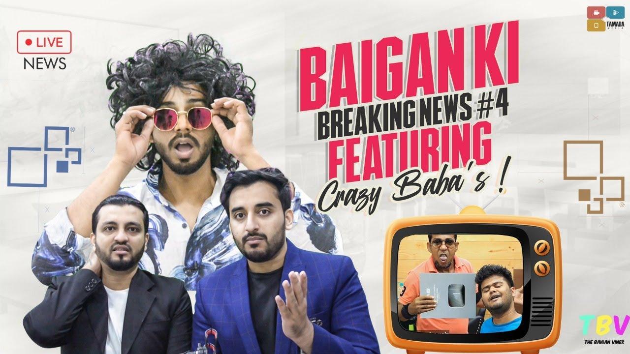 Hyderabadi Chindi Breaking News #4   Comedy   The Baigan Vines