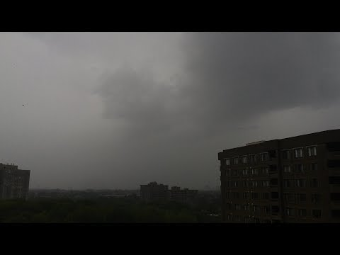 Severe Thunderstorm in Mississauga, Ontario (August 4, 2017) with Suspicious Clouds!