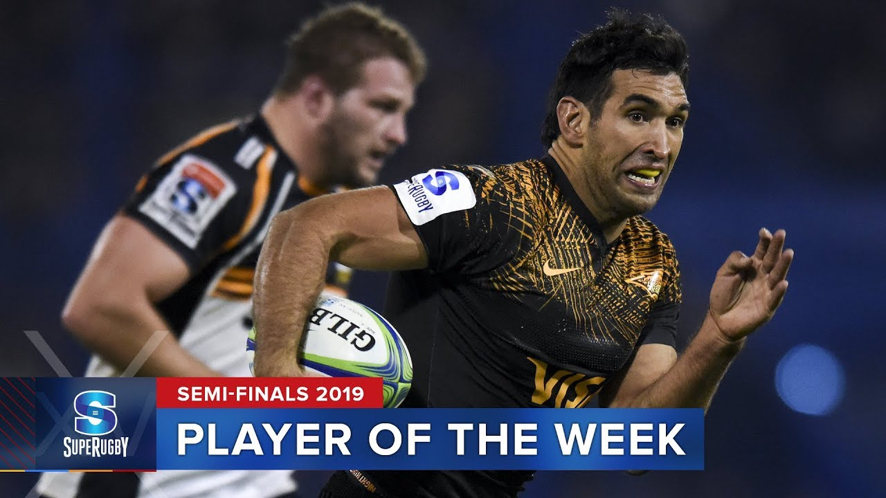 PLAYER OF THE WEEK | Super Rugby 2019 Semi Finals