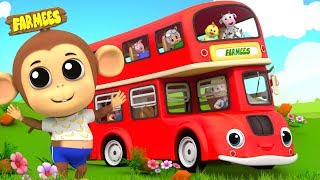 Ride On a School Bus | Nursery Rhymes And Songs for Children