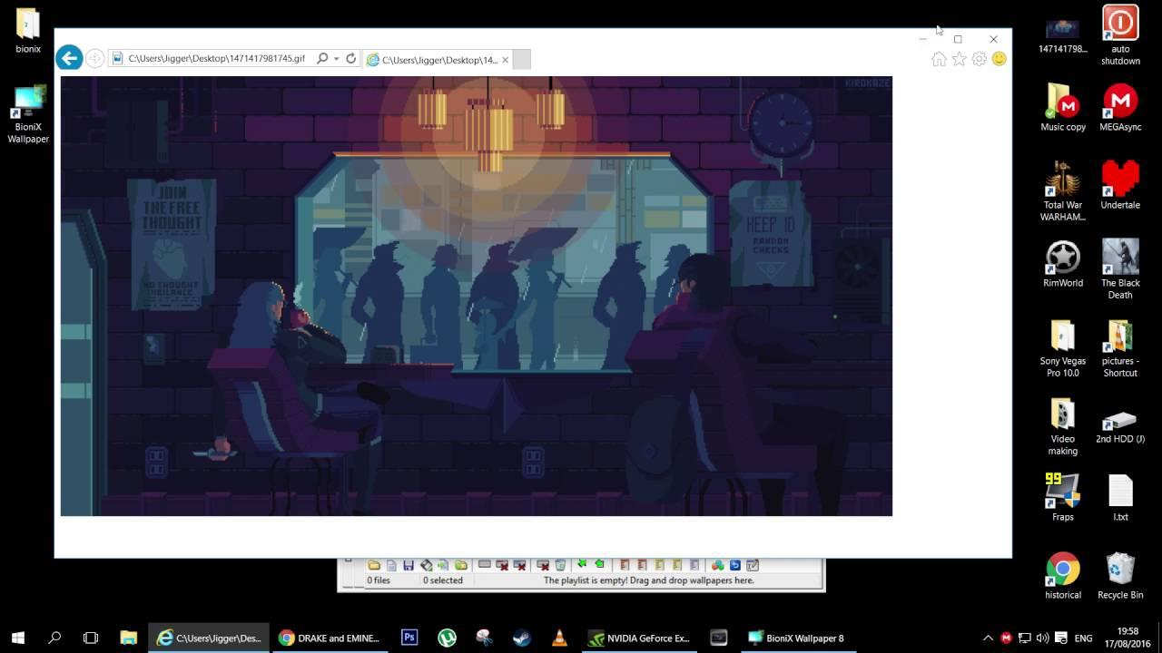 Windows 10 Animated Wallpapers Easiest Method Youtube
