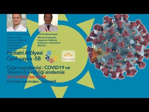 COVID-19 pandemisi ve Vitamin D eksikliği sindemisi