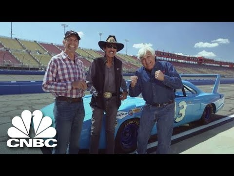 Nascar Legends Kyle And Richard Petty Take To The Racetrack | Jay Leno's Garage | CNBC Prime