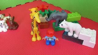 Лего Домашние животные и Зоопарк для малыш./LEGO Duplo 10838 Family Pets & 4962 Baby Zoo