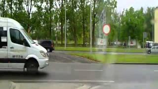 Krajówka, trasa: [1/2] Orzesze - Kielce - Warszawa - Bytom