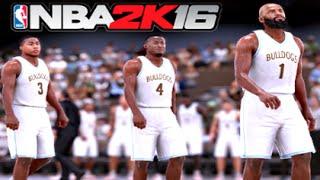 NBA 2K16 My Career [High School 1st Game][PS4 Gameplay]