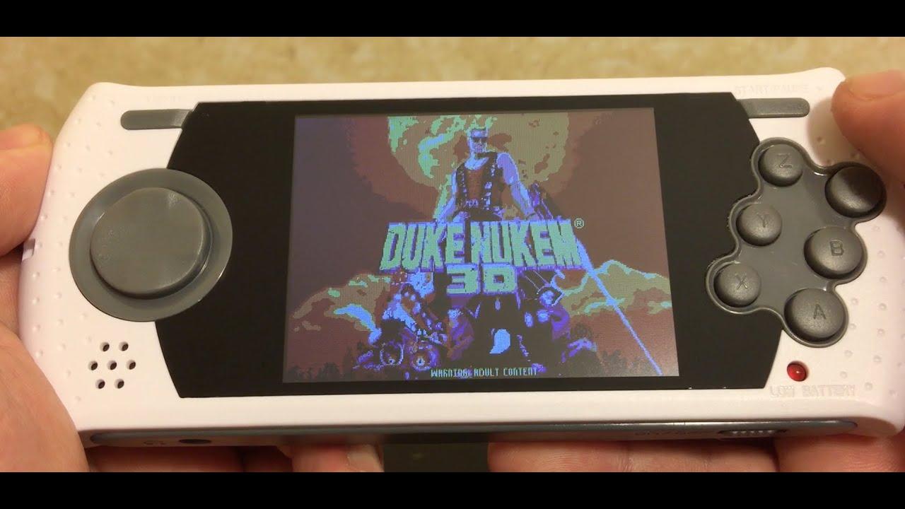 AtGames Sega Genesis Ultimate Portable Game Player ...