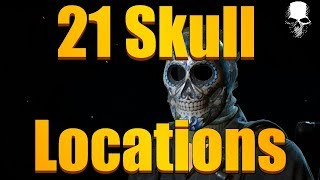 Ghost Recon Wildlands - All 21 Skull Locations Walkthrough Guide (How To Get Day of the Skull Mask)