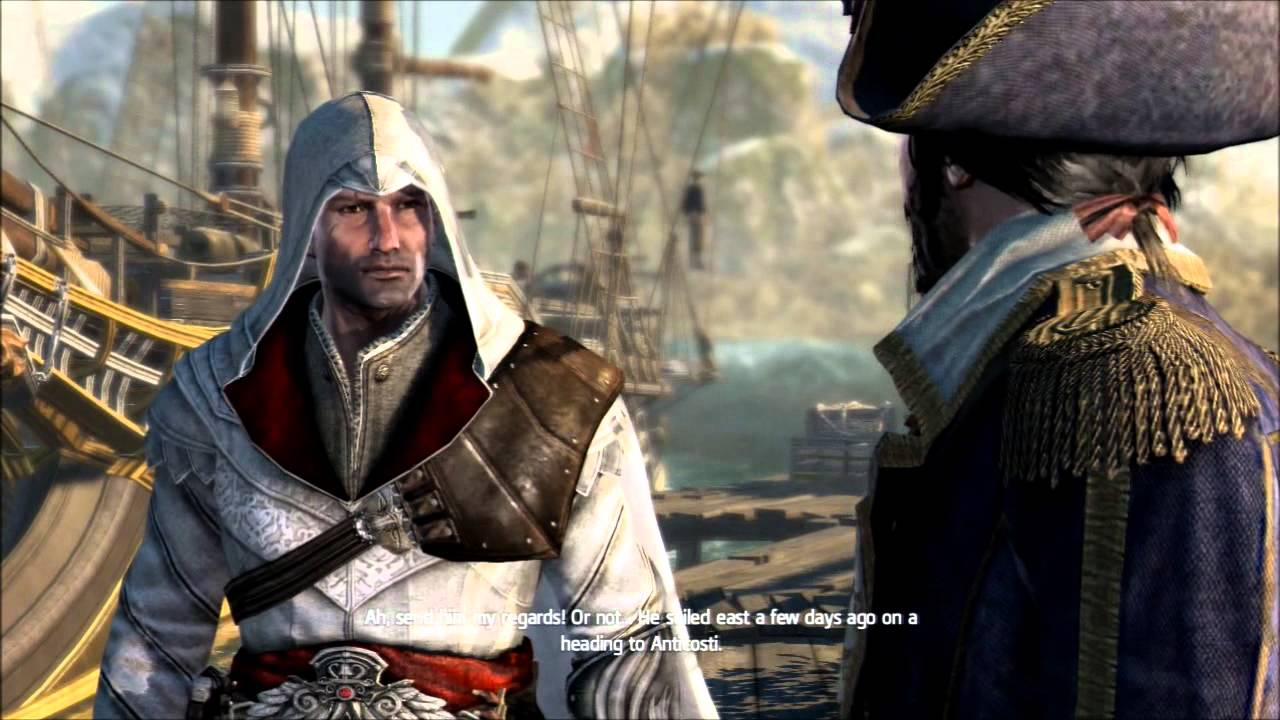 Assassin S Creed Rogue All Legacy Outfits With Cutscenes Youtube
