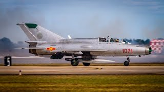 vintage plane spotting vietnam war airpower demo mig 17 mig 21 a 4 a1d f 100 hueys and more