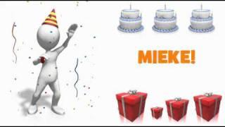 HAPPY BIRTHDAY MIEKE!