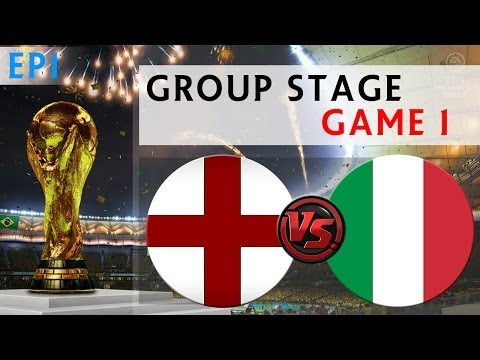 [TTB] 2014 FIFA World Cup Brazil - England Vs Italy - Group Stage Game 1 - Ep1