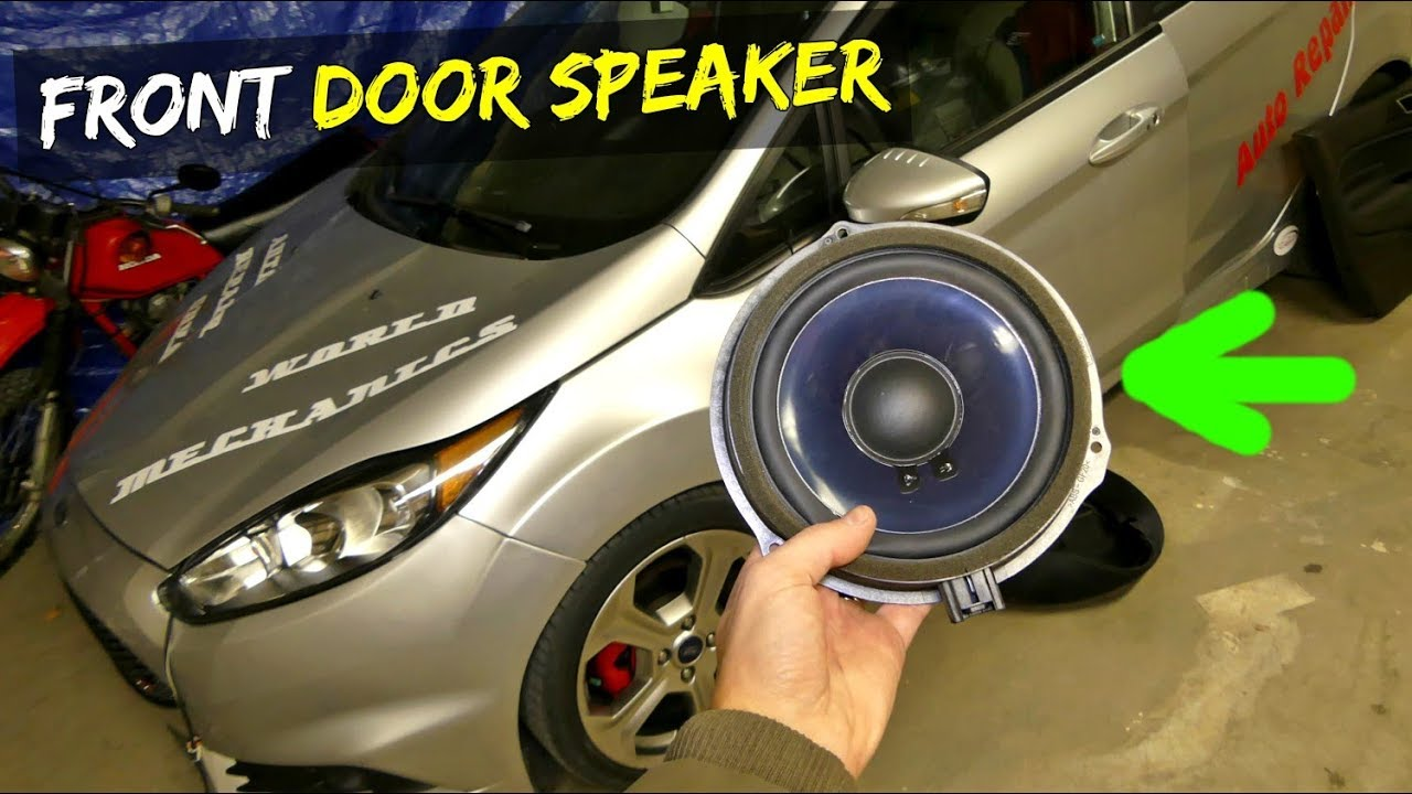 How To Remove And Replace Front Door Speaker On Ford Fiesta Mk7
