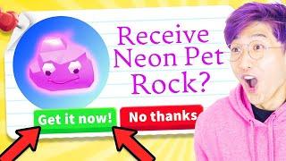 Can We Get These CRAZY NEW ADOPT ME TIK TOK HACKS To ACTUALLY WORK!? (NEON PET ROCK!?)