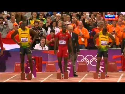 Usain Bolt wins Gold at 2012 Olympics London - Men's 100m ...