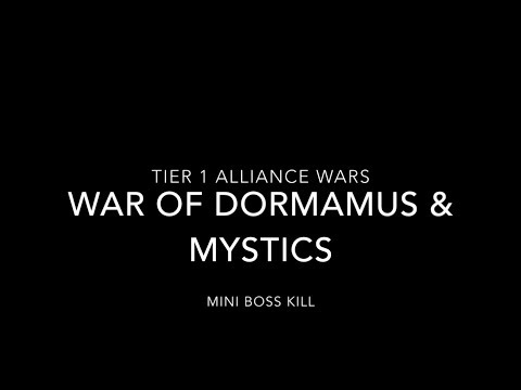 Tier 1 Alliance War - Dormamu Mini Boss Kill - whole run